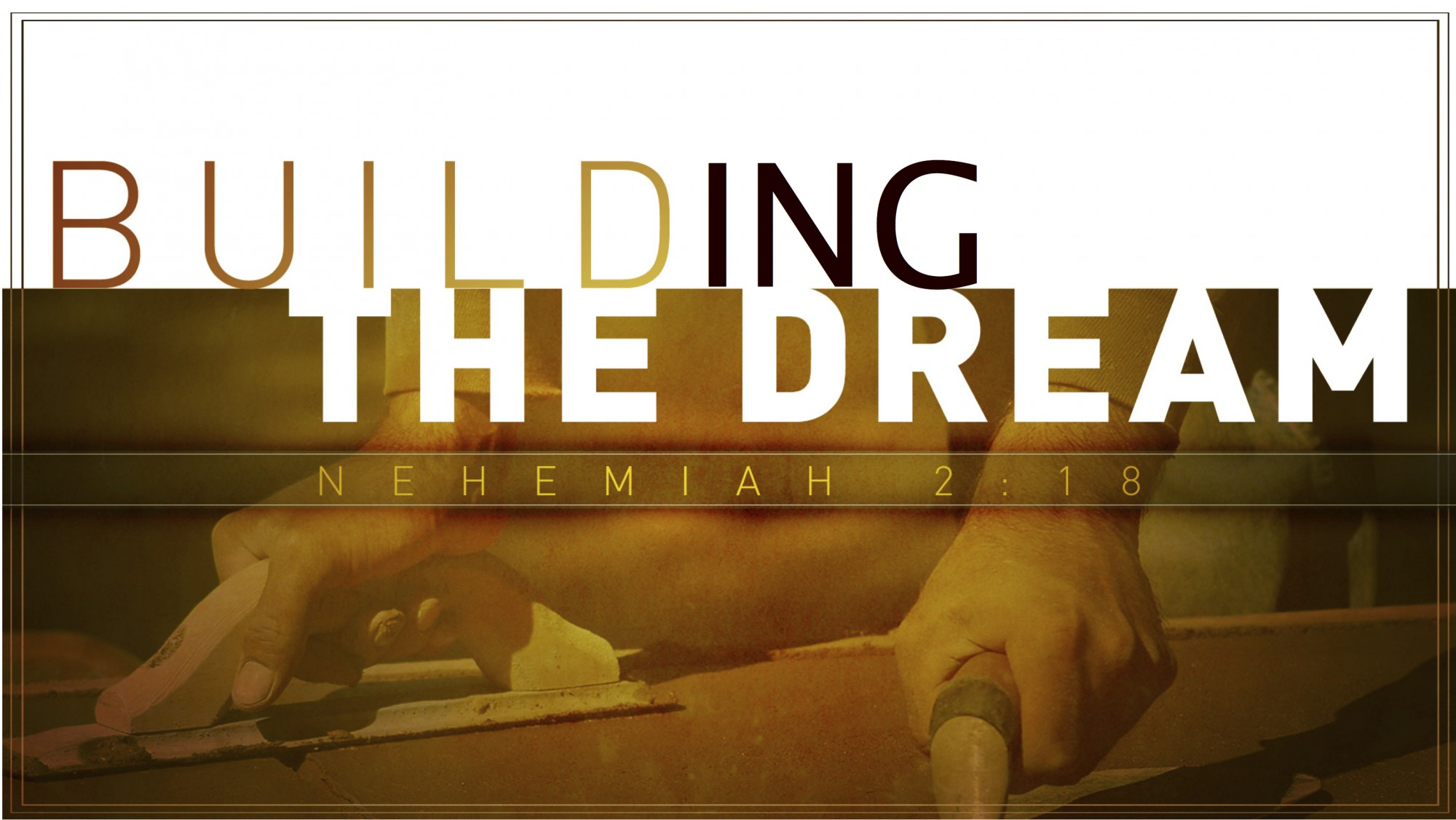What does the building dream about